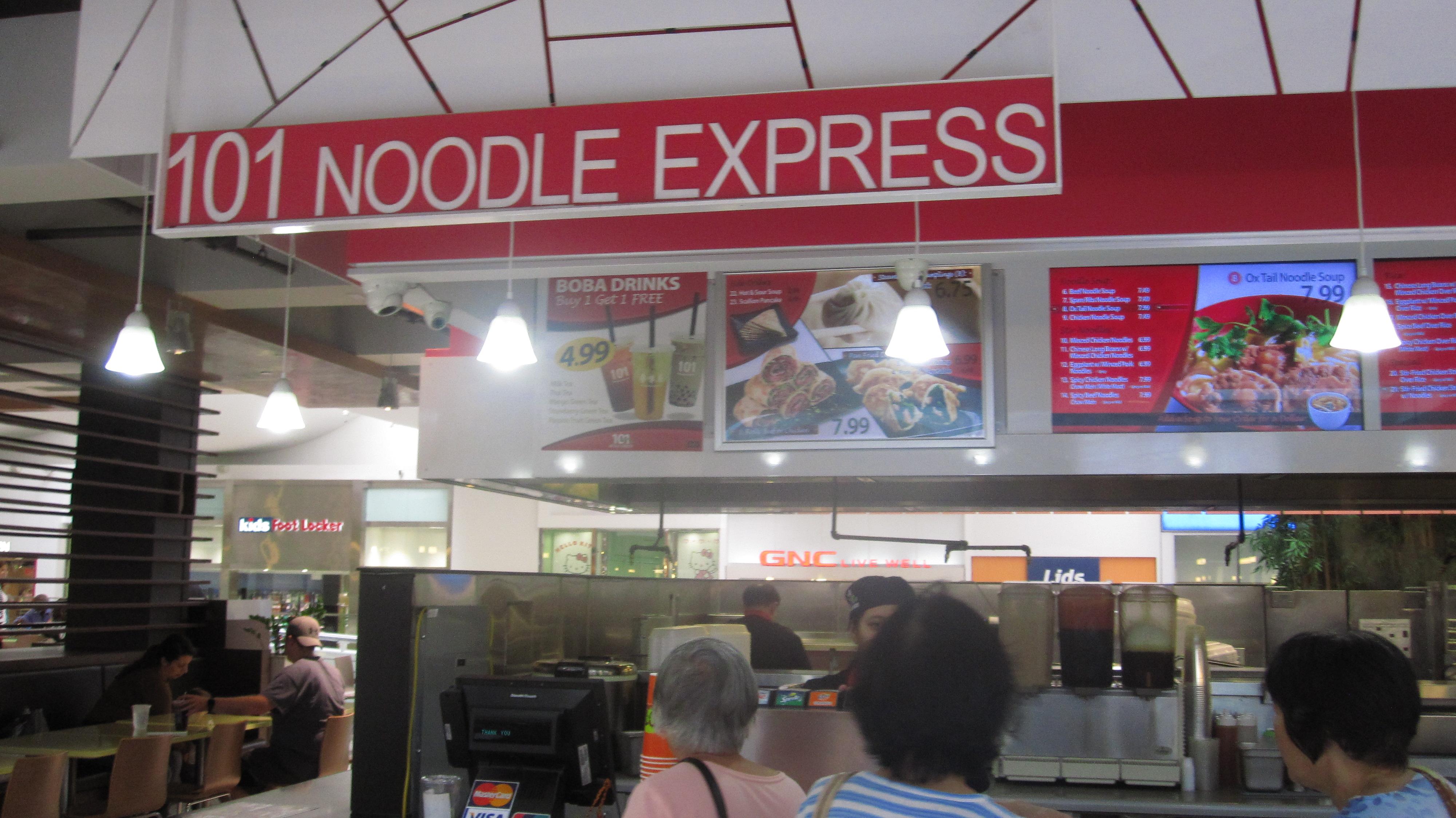 101 noodle express 101 – Express Culver City Noodle