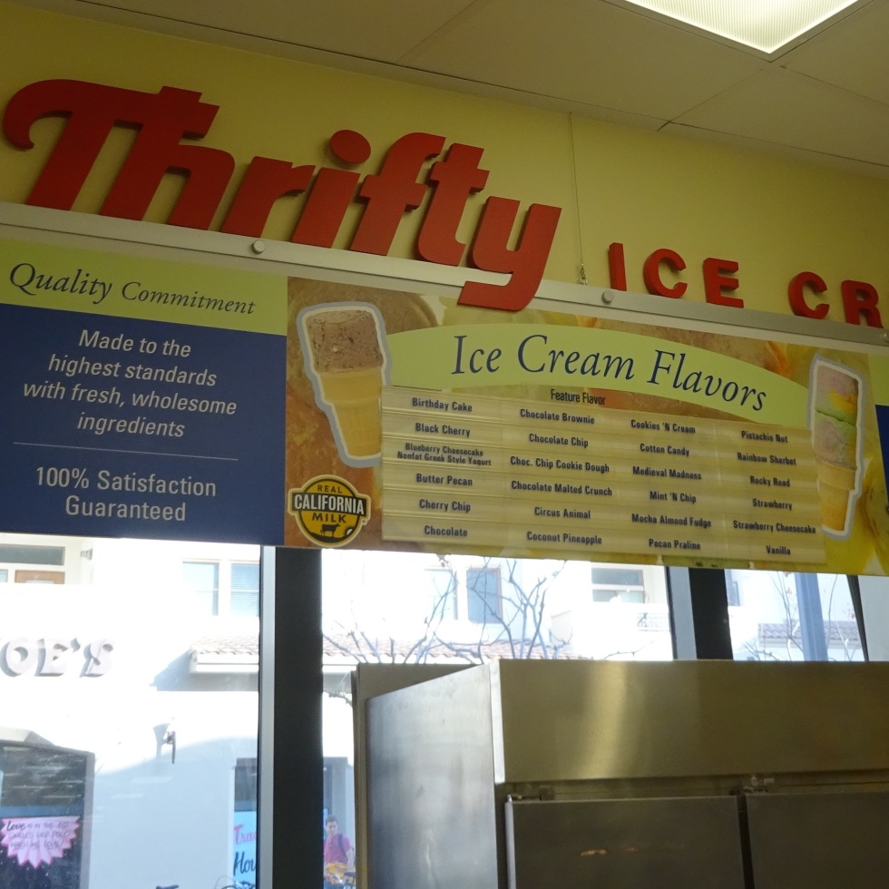 Thrifty Ice Cream At Rite Aid Westwood